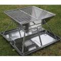 Barbecue BBQ portable en acier inox