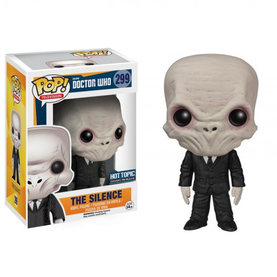 Figurine Doctor Who - The Silence Pop 10cm
