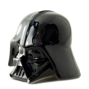 Tirelire casque de Dark Vador en 3D