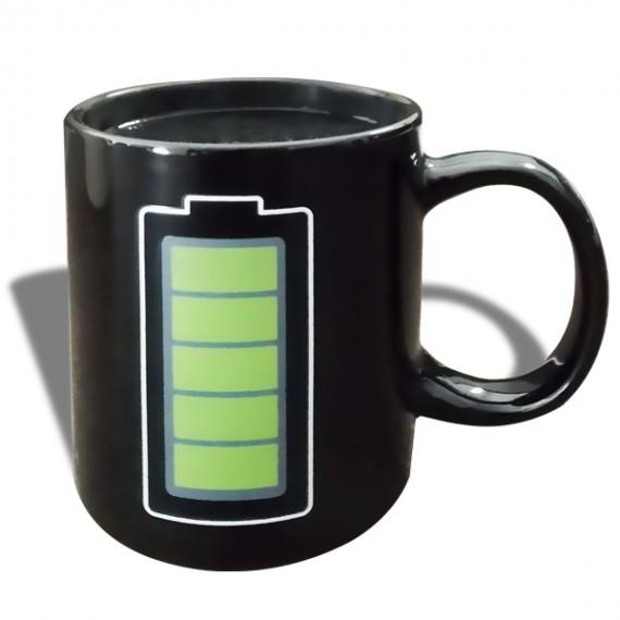 Tasse thermique batterie recharge