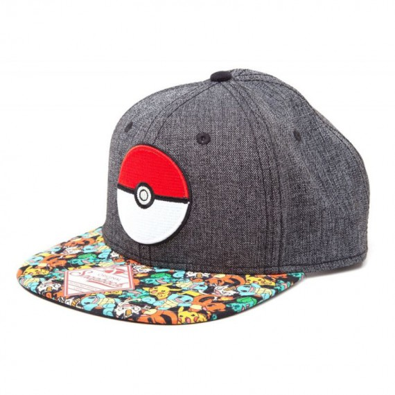 Casquette Pokemon PokeBall