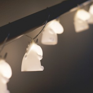 Guirlande lumineuse Licornes