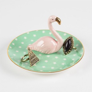 Porte-bijoux flamand rose