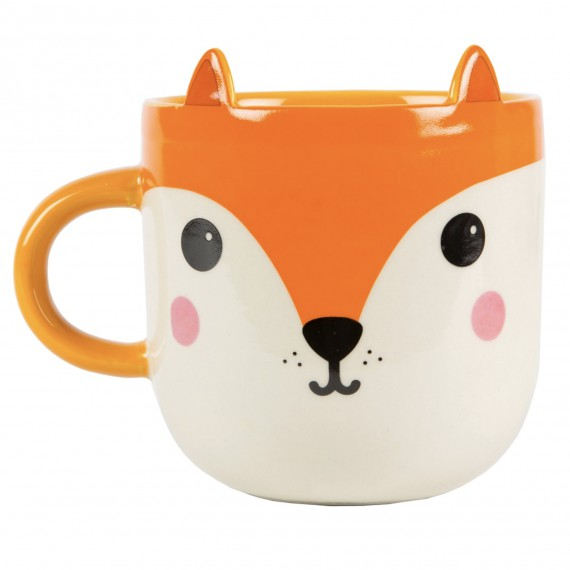 Mug renard hiro kawaii for Decoration cuisine kawaii