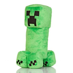 Peluche Minecraft Creeper