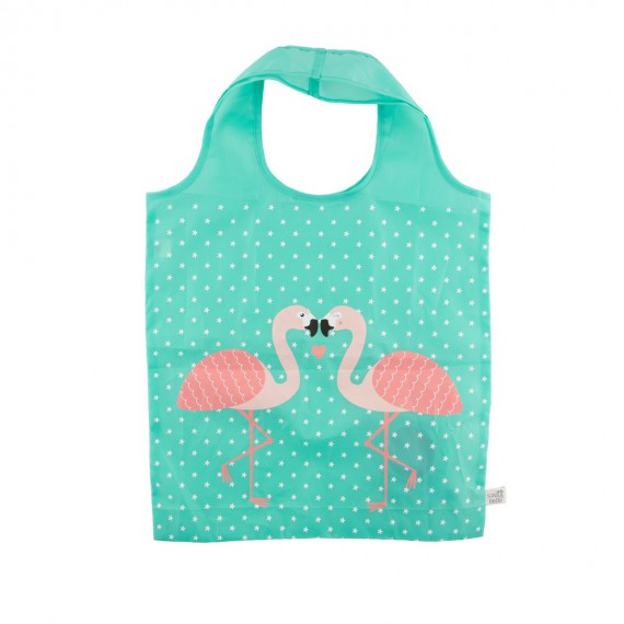 Tote bag flamand rose