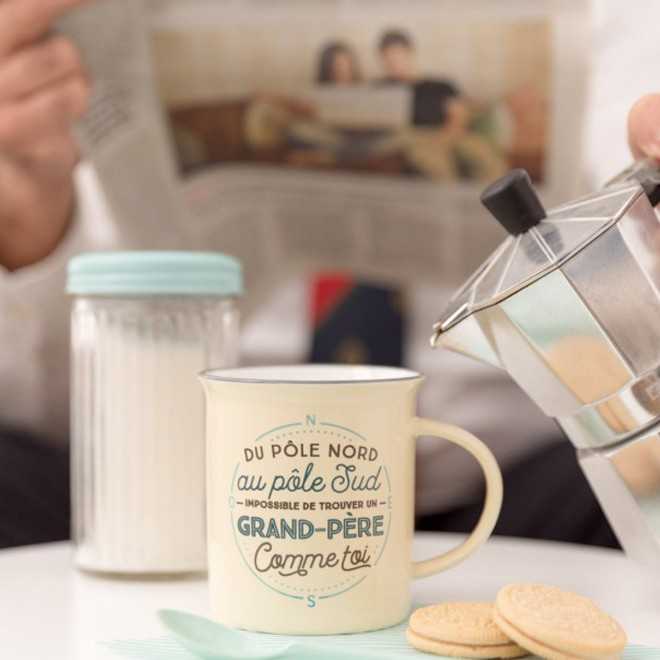 mug super grand p re commentseruiner. Black Bedroom Furniture Sets. Home Design Ideas