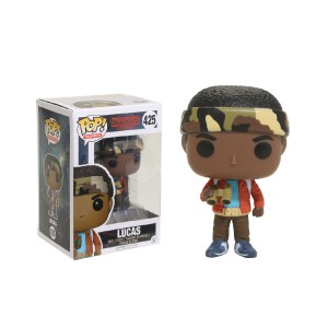 Figurine POP Stranger Things Lucas with binoculars