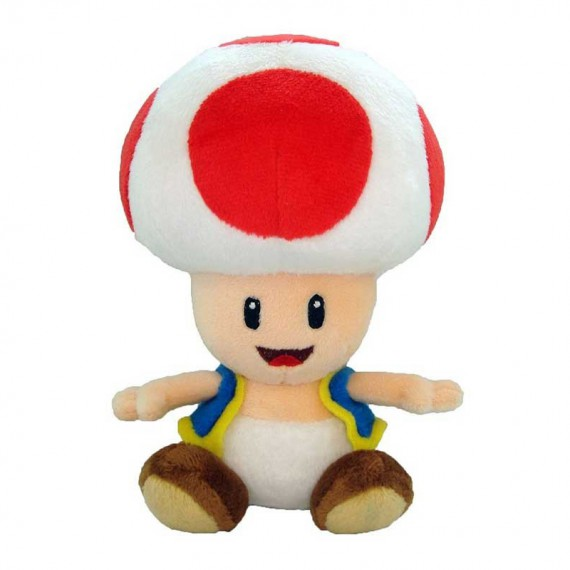 Peluche Toad - Super Mario Bros