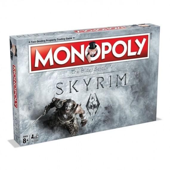 Boite de Jeux Monopoly The Elder Scrolls V - Skyrim