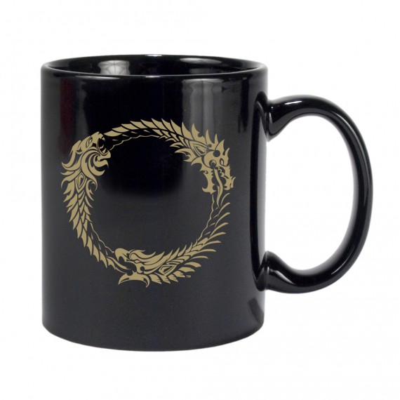 Mug Elder Scrolls Online Noir - Ouroboros