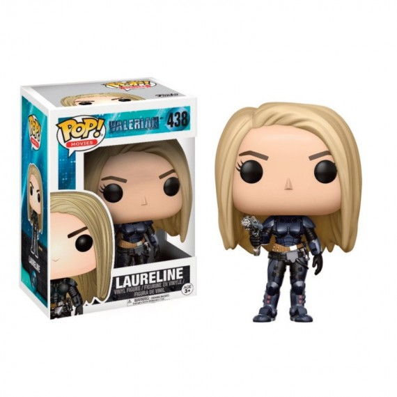 Figurine Pop! Valerian - Laureline Pop 10cm
