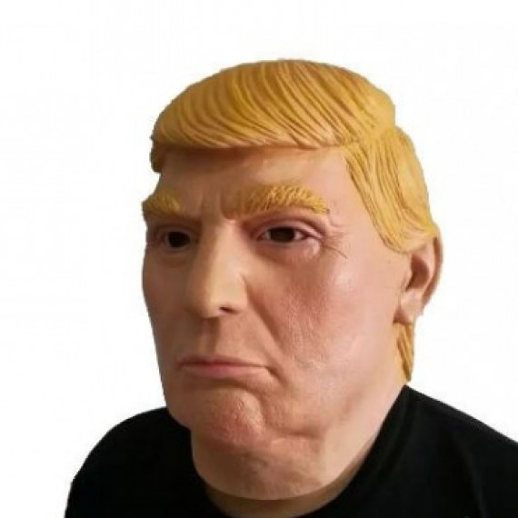 Masque de Donald Trump en latex