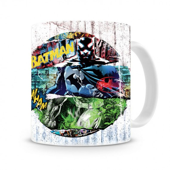 Mug DC Comics Batman Graffiti Circle
