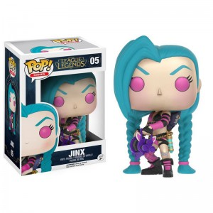 Figurine POP League of Legends Jinx