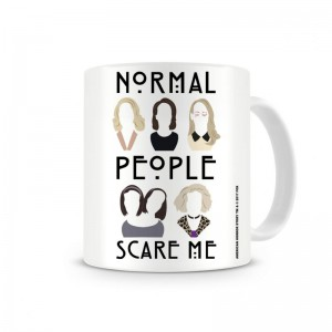 Mug American Horror Story Normal People Scare Me
