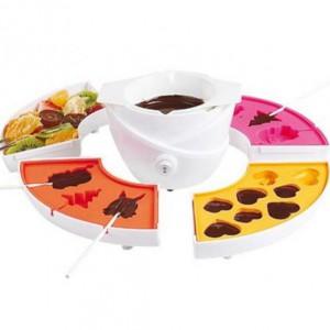 Set fondue et sucettes chocolat