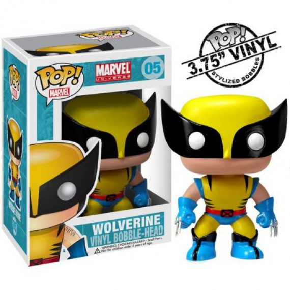 Figurine POP Marvel Wolverine Jaune X-men