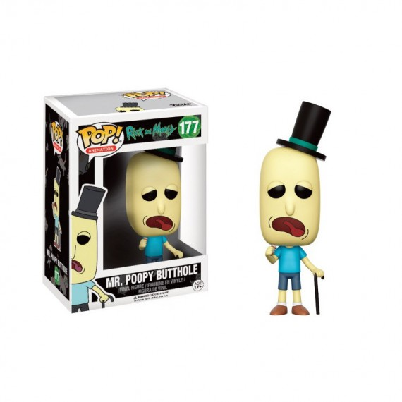 Figurine Pop ! Rick & Morty - Mr. Poopy Butthole