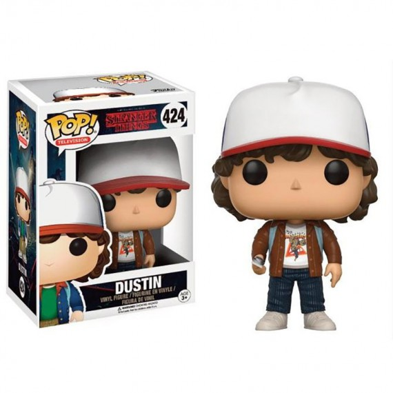 Figurine POP Stranger Things Dustin Tshirt Karaté