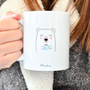 Mug de Noël - J'peux pas j'ai chocolat chaud et chamallows