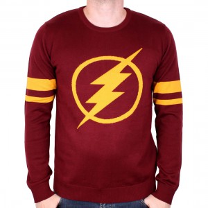 Pull over Flash DC Comics logo