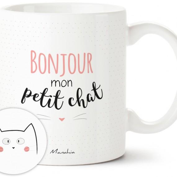Mug - Bonjour mon petit chat