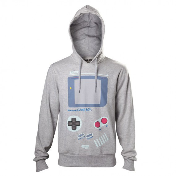 Le pull à capuche Game Boy