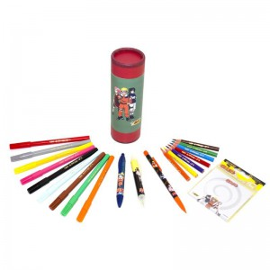 Pack crayons Naruto Bic - Feutres, crayons couleurs et bille