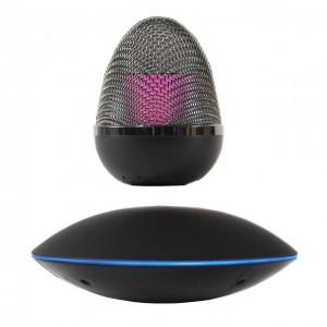 Enceinte Bluetooth en lévitation SOUNDAIR Noire - MAGNETICLAND