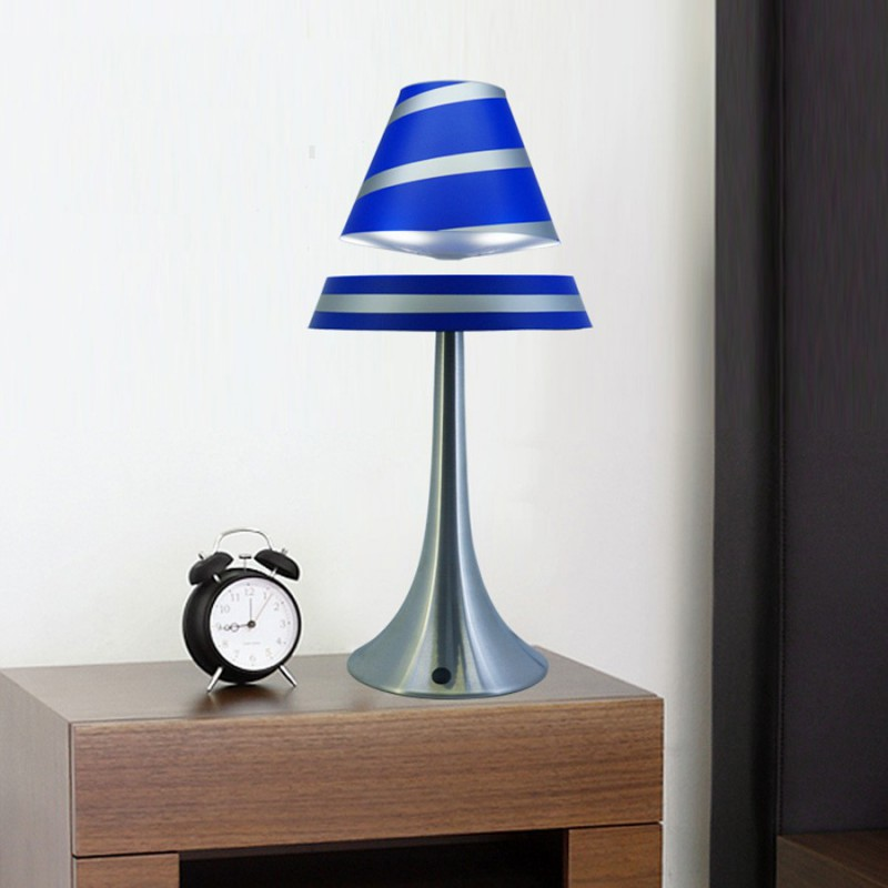 lampe en l vitation althuria bleue grand format. Black Bedroom Furniture Sets. Home Design Ideas