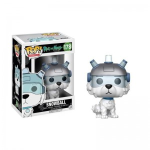 Figurine Pop ! Rick & Morty - Snowball