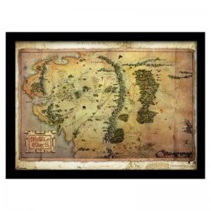 Carte Seigneur des Anneaux, Terre du Milieu