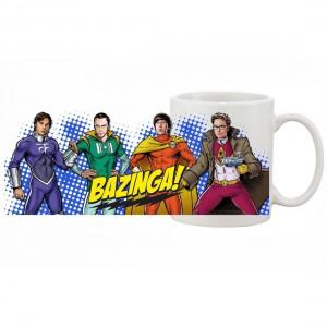 Mug Big Bang Theory - Heros Style