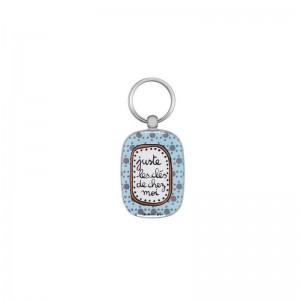 Porte-clés OPAT Juste bleu