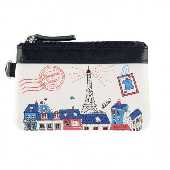 Porte-monnaie PAT Bonjour Paris