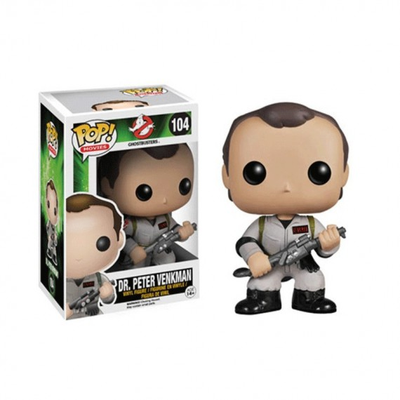 Figurine Ghostbusters - Dr Peter Venkman Pop 10 cm