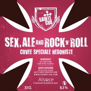 Bière ambrée - SEX, ALE & ROCK N ROLL - 0.33L