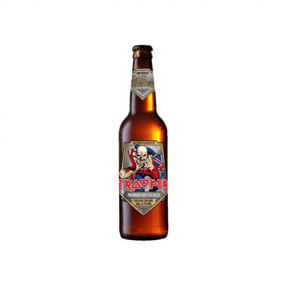 Bière blonde - ROBINSONS TROOPER IRON MAIDEN 0,33L