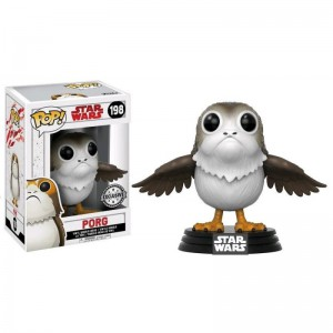 Figurine Star Wars episode 8 - Porg Open Wings Exclusive Pop 10cm