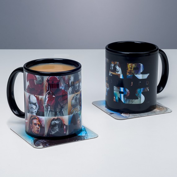 Mug Thermoréactif Personnages Star Wars VIII