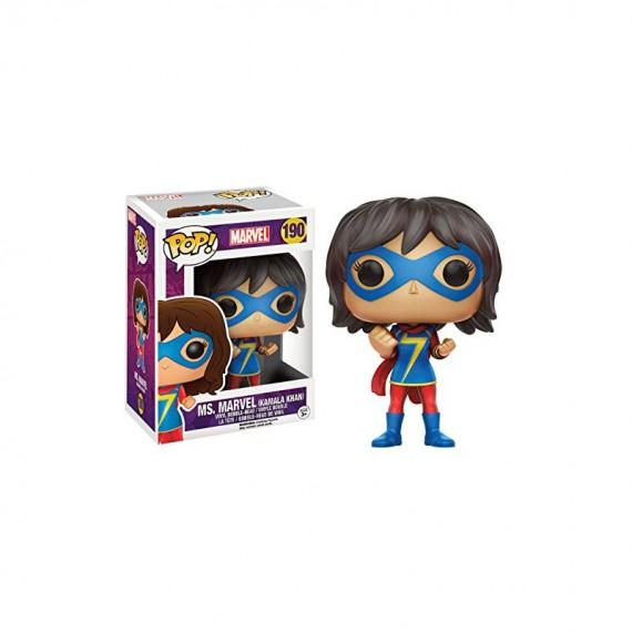 Figurine POP Marvel - Ms.Marvel (Kamala Khan) Exclu Pop 10cm