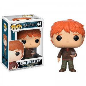 Figurine POP Harry Potter - Ron et Croûtard