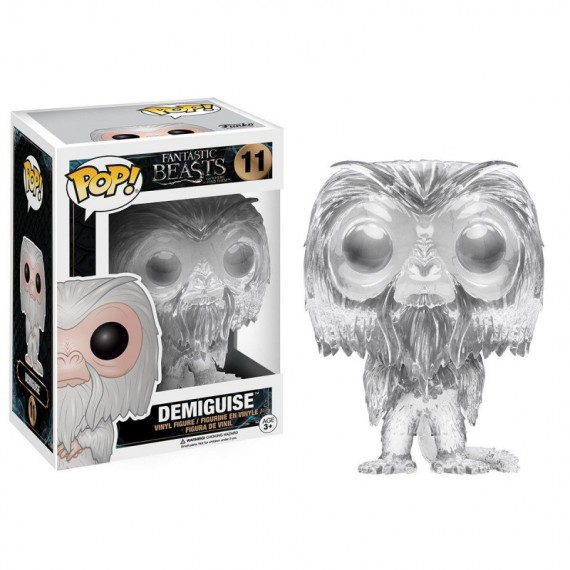 Figurine POP Fantastic Beasts - Demiguise invisible (exclu)
