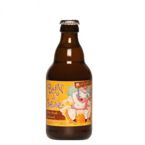 Bière blonde - DE SUTTER BRIN DE FOLIE 0.33L