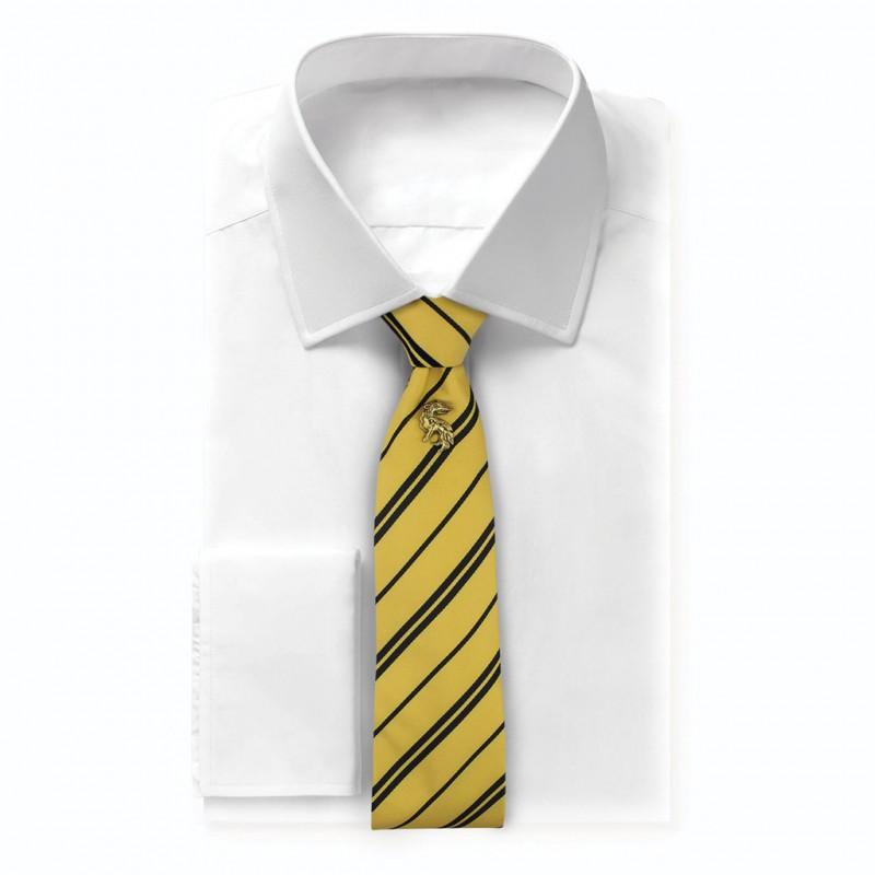 Chambre Bébé Harry Potter : Cravate deluxe poufsouffle avec pin s harry potter