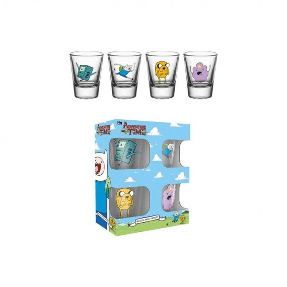 Set 4 shooter Adventure Time