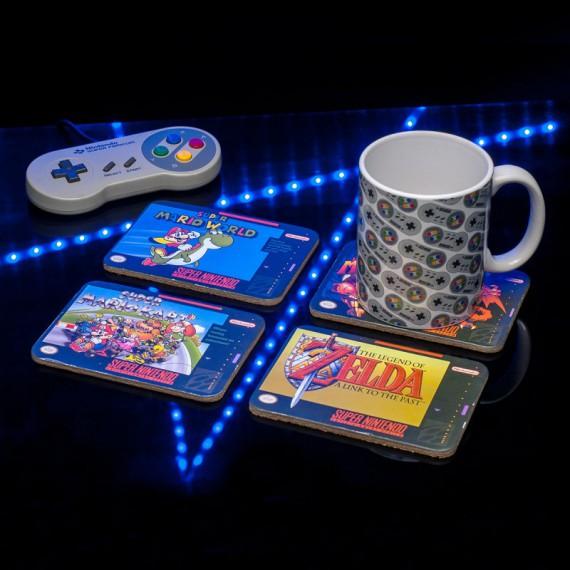 Dessous de Verre Super NES