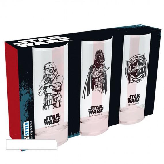 Lot de 3 Verres Star Wars Empire