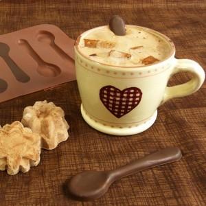 Moule à Cuillères en Chocolat